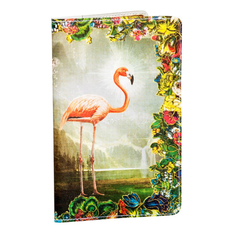 Flamingo Rainbow Paradise Small Covered Moleskine Notebook