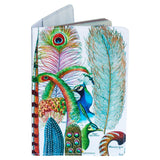 Vintage Plumes Passport Holder