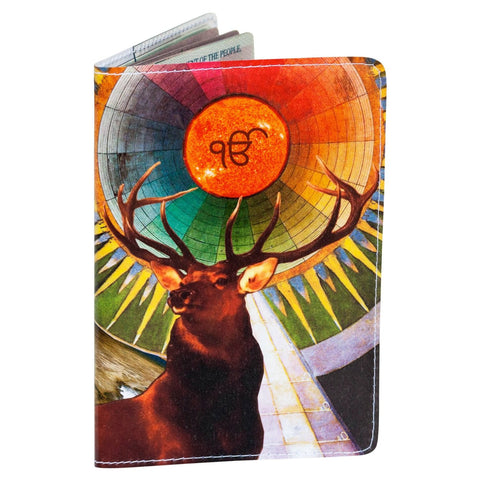Radiant Buck Passport Holder