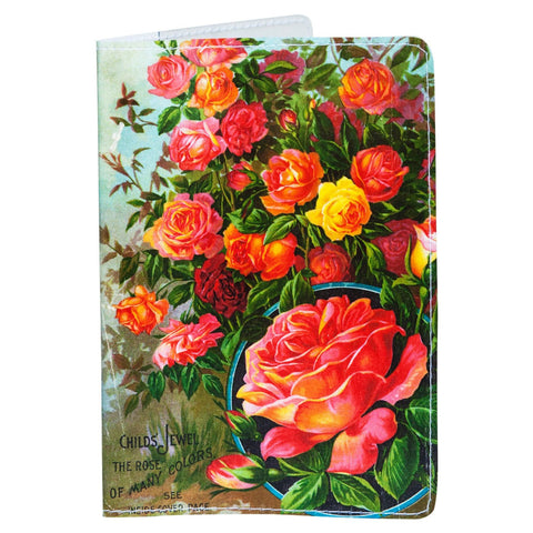 Rose Plants Passport Holder