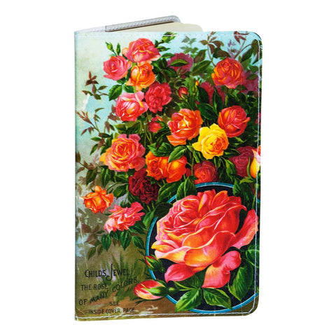 Rose Plants Small Covered Moleskine Notebook