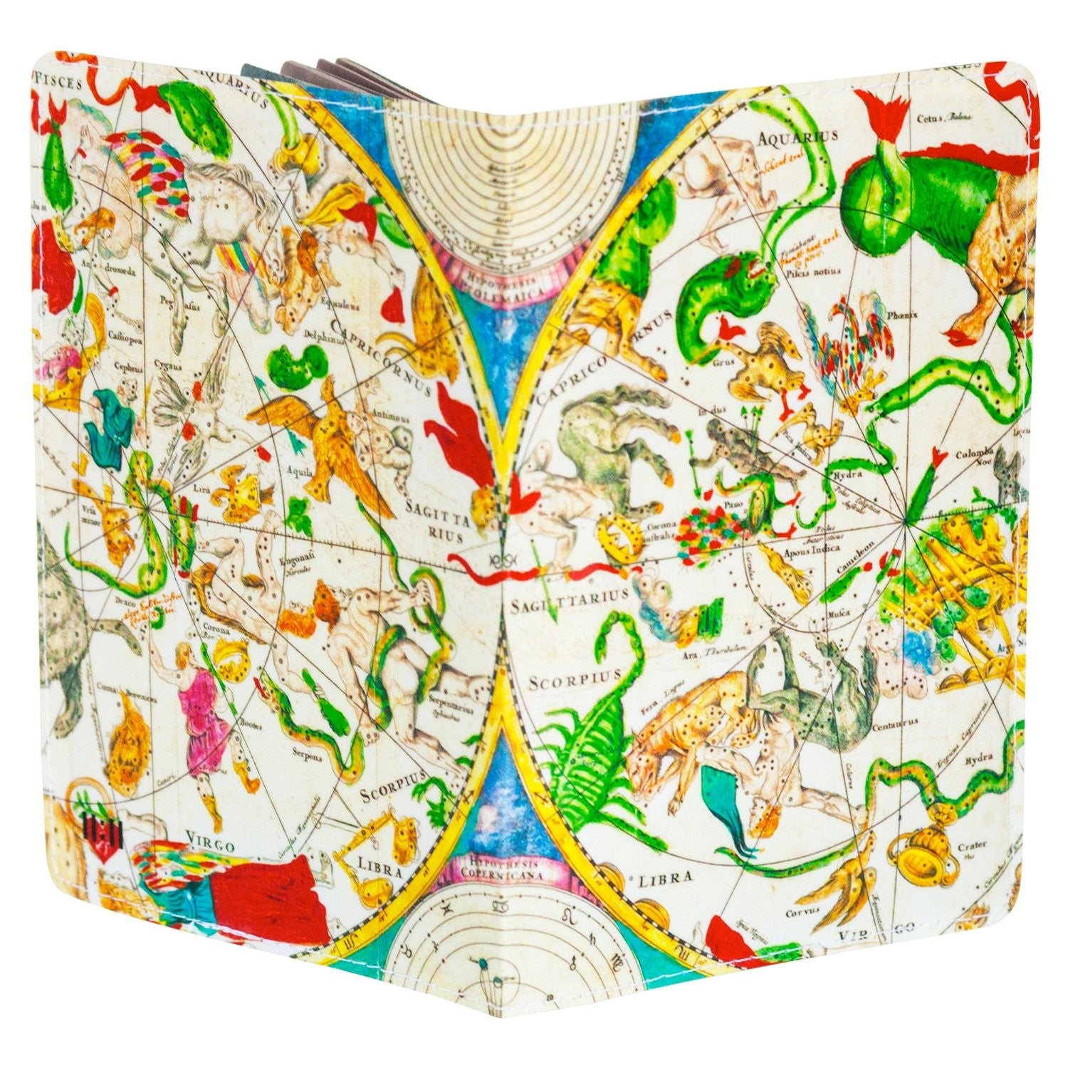 Astrological Map Passport Holder