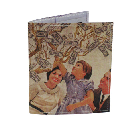 Family Money Tree Bi-Fold Wallet