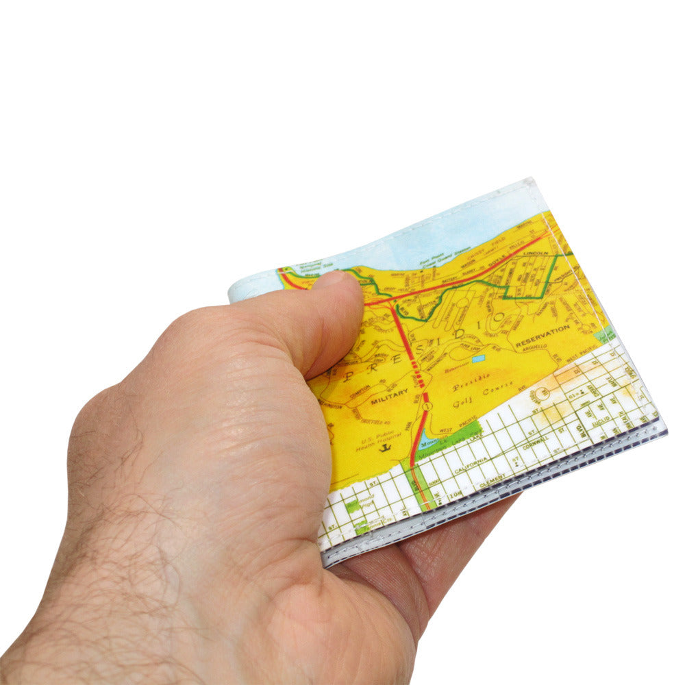San Francisco Map Bi-Fold Wallet