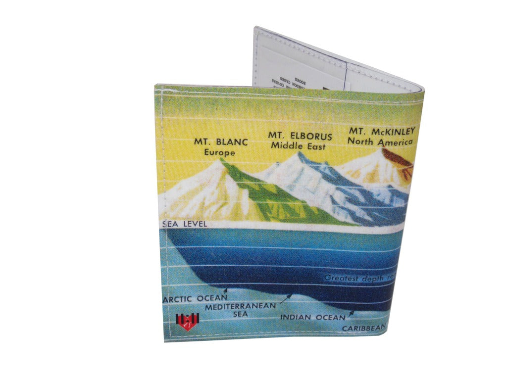 Sea Mountain Bi-Fold Wallet