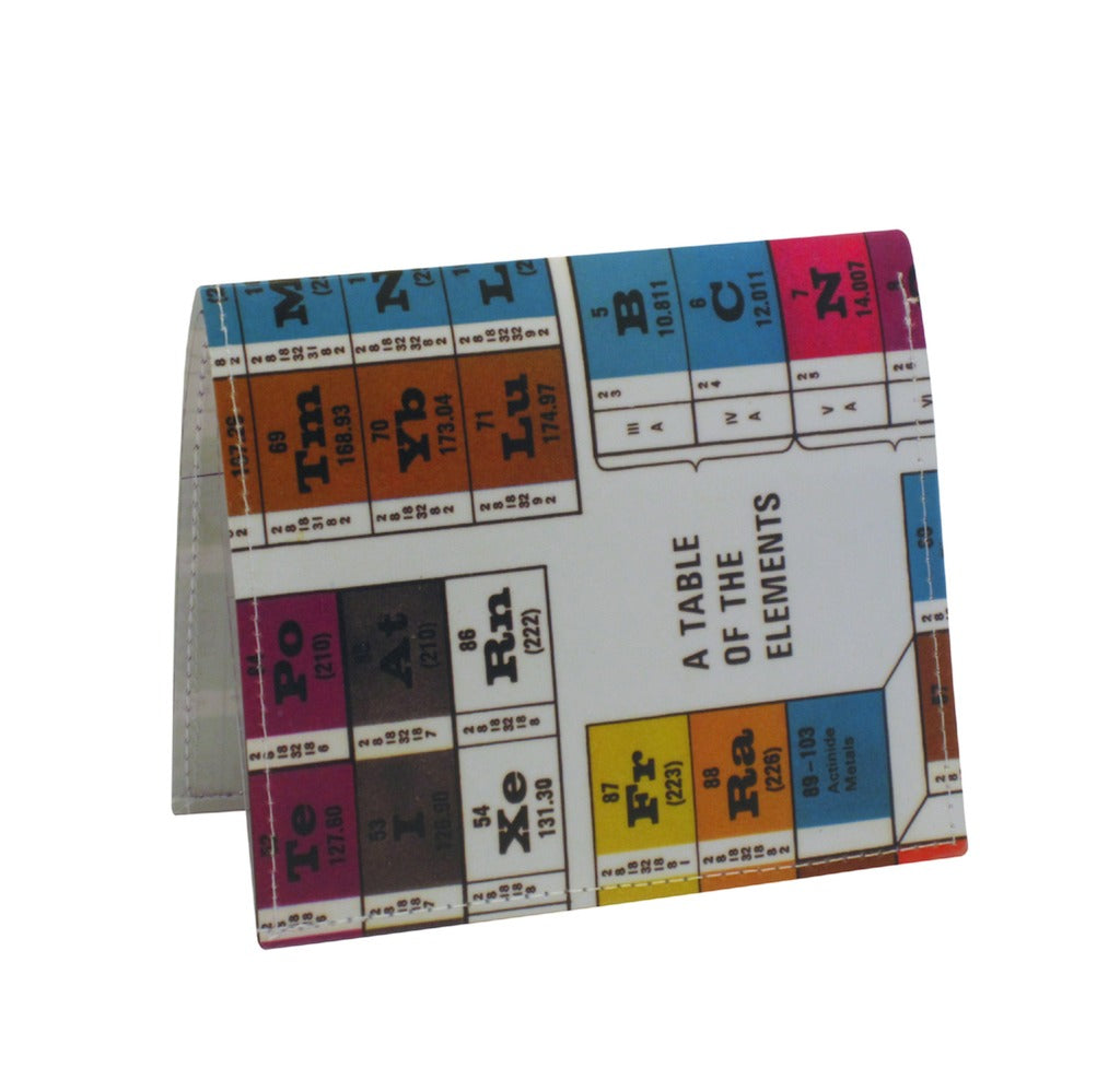 Periodic Table of The Elements Bi-Fold Wallet