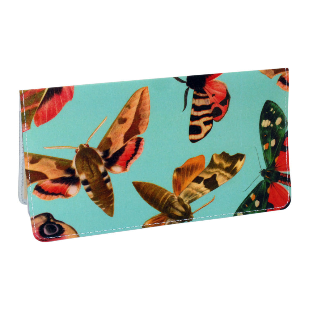Fancy Magical Moth Checkbook Cover
