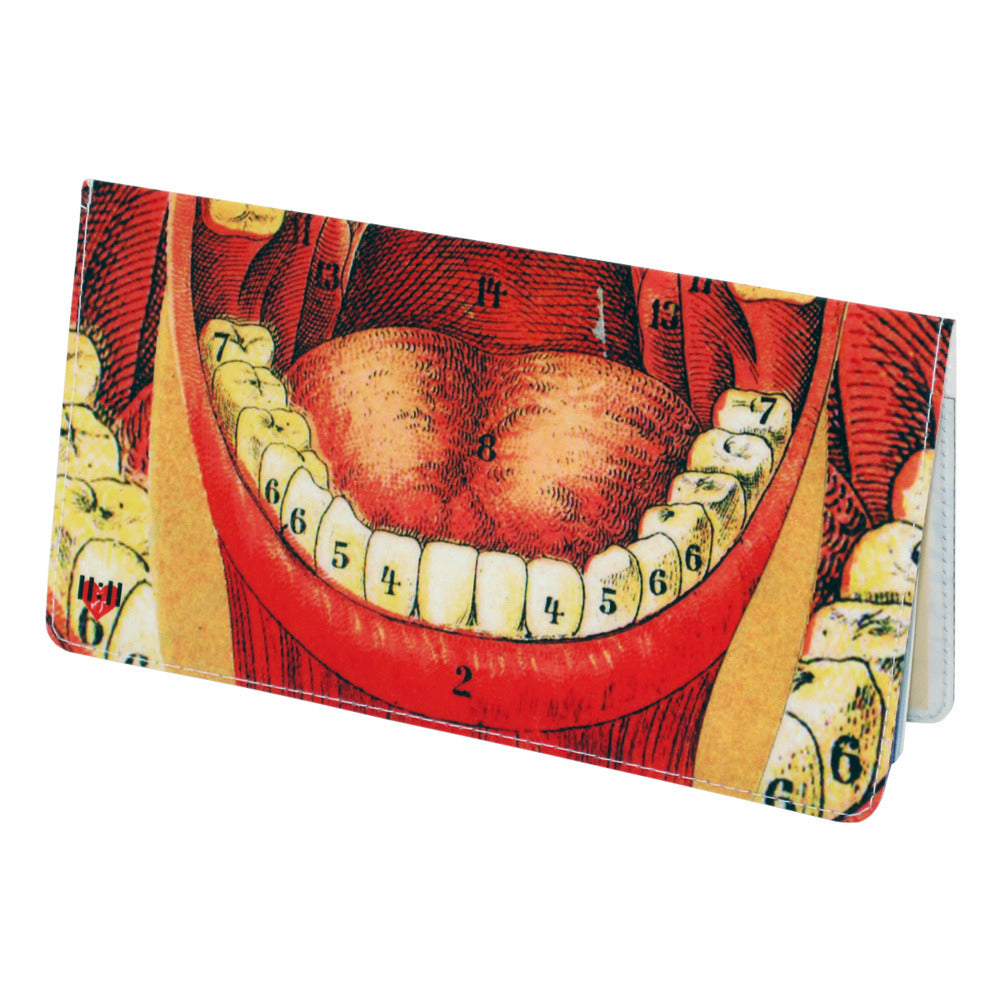 Big Mouth Checkbook Cover