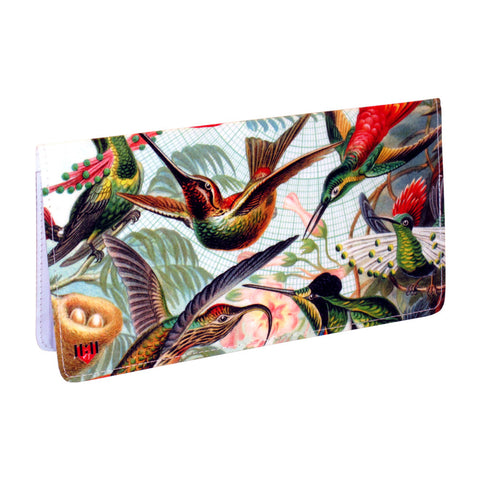 Audobon Green Birds Checkbook Cover