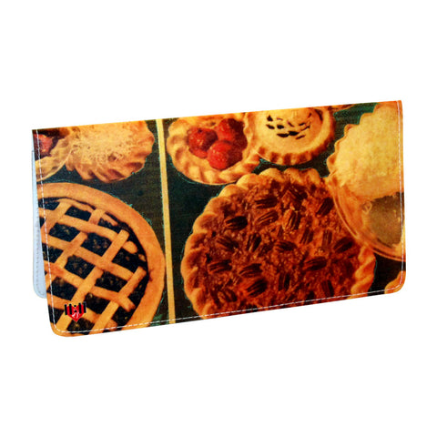 Potpourri of Pie Checkbook Cover