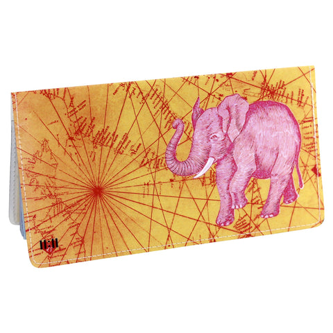 Onward Sacred Elephant Checkbook Cover