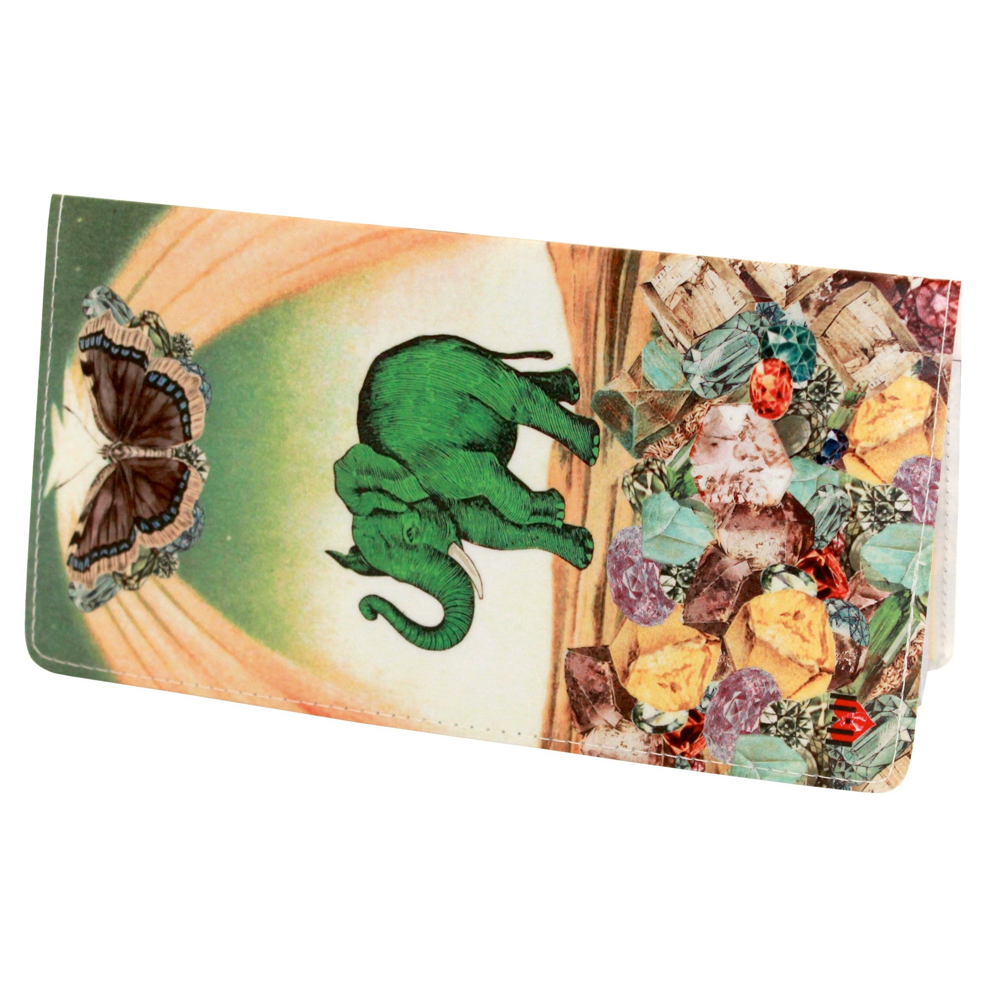 Magical Elephant Checkbook Cover