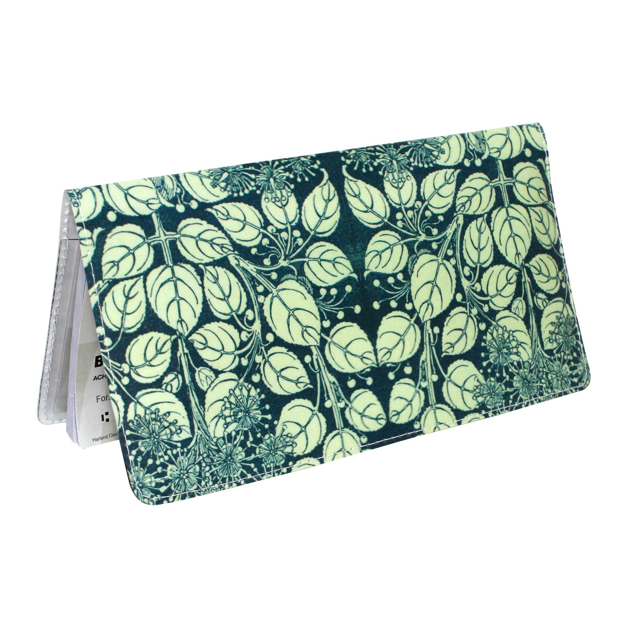 Floral Beauty Checkbook Cover