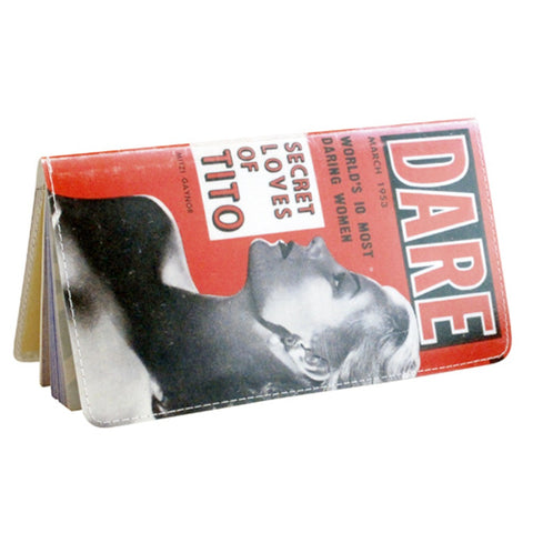 Dare Vintage Film Noir Checkbook Cover