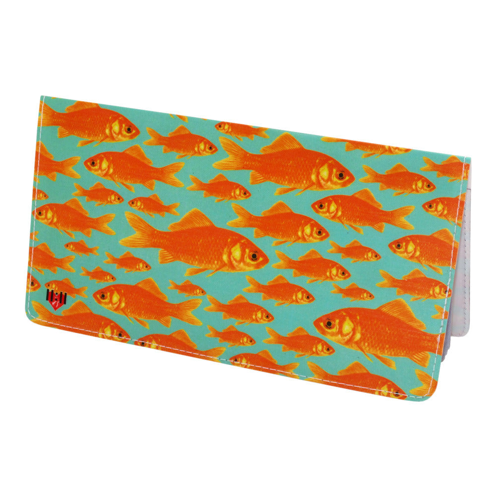 Goldfish Checkbook Cover