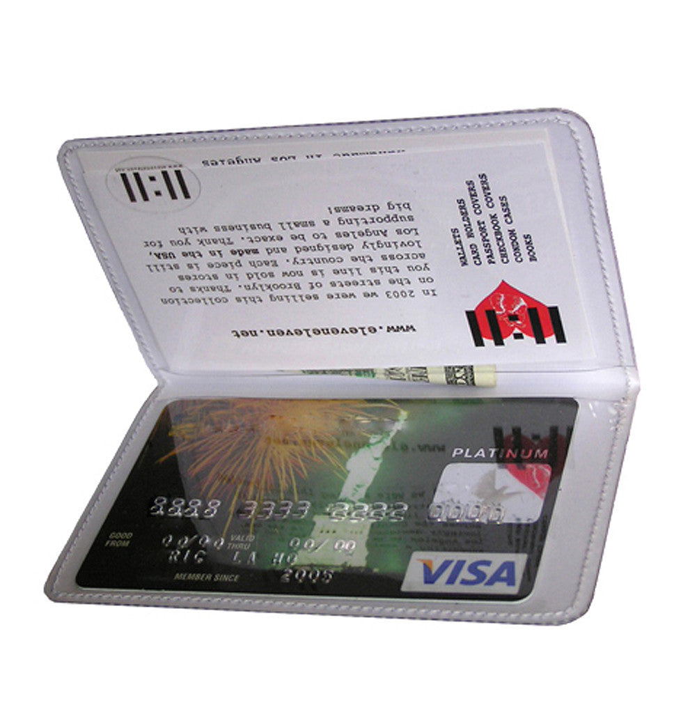 Card Holder with 11:11 time wish meaning