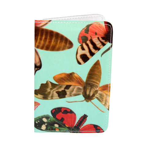 Fancy Magical Moth Business, Credit & ID Card Holder