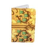 Butterfly Art Nouveau Business, Credit & ID Card Holder