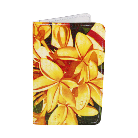 Frangipani-Plumeria Business, Credit & ID Card Holder
