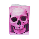 Pink Skull Business, Credit & ID Card Holder