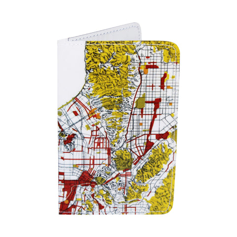 Map of Los Angeles Business, Credit & ID Card Holder