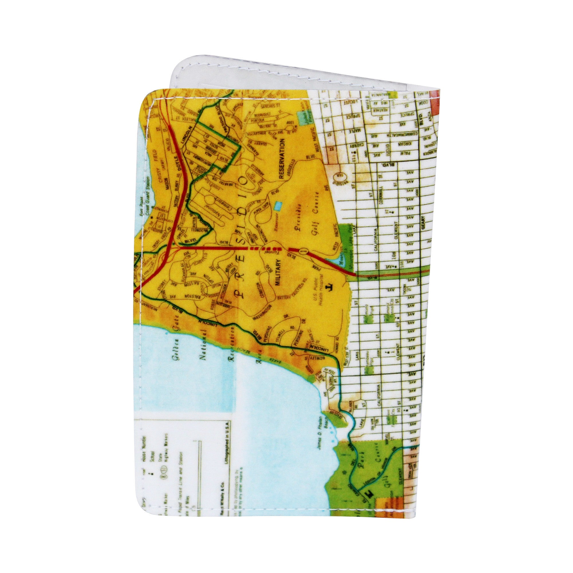 San Francisco Map Business, Credit & ID Card Holder
