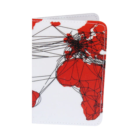 Airlines Route Map, Business, Credit & ID Card Holder