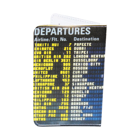 Airport Departures Business, Credit & ID Card Holder
