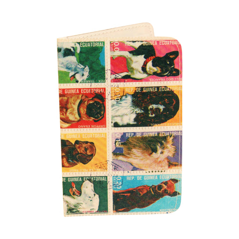Dog Stamps Business, Credit & ID Card Holder Wallet