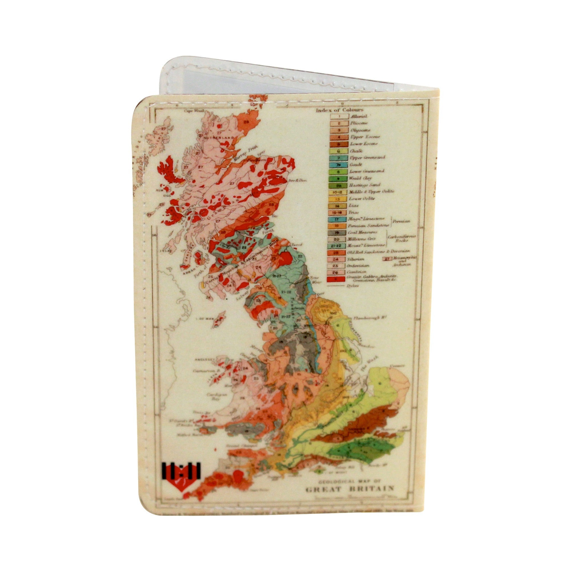 Great Britain Map Business, Credit & ID Card Holder
