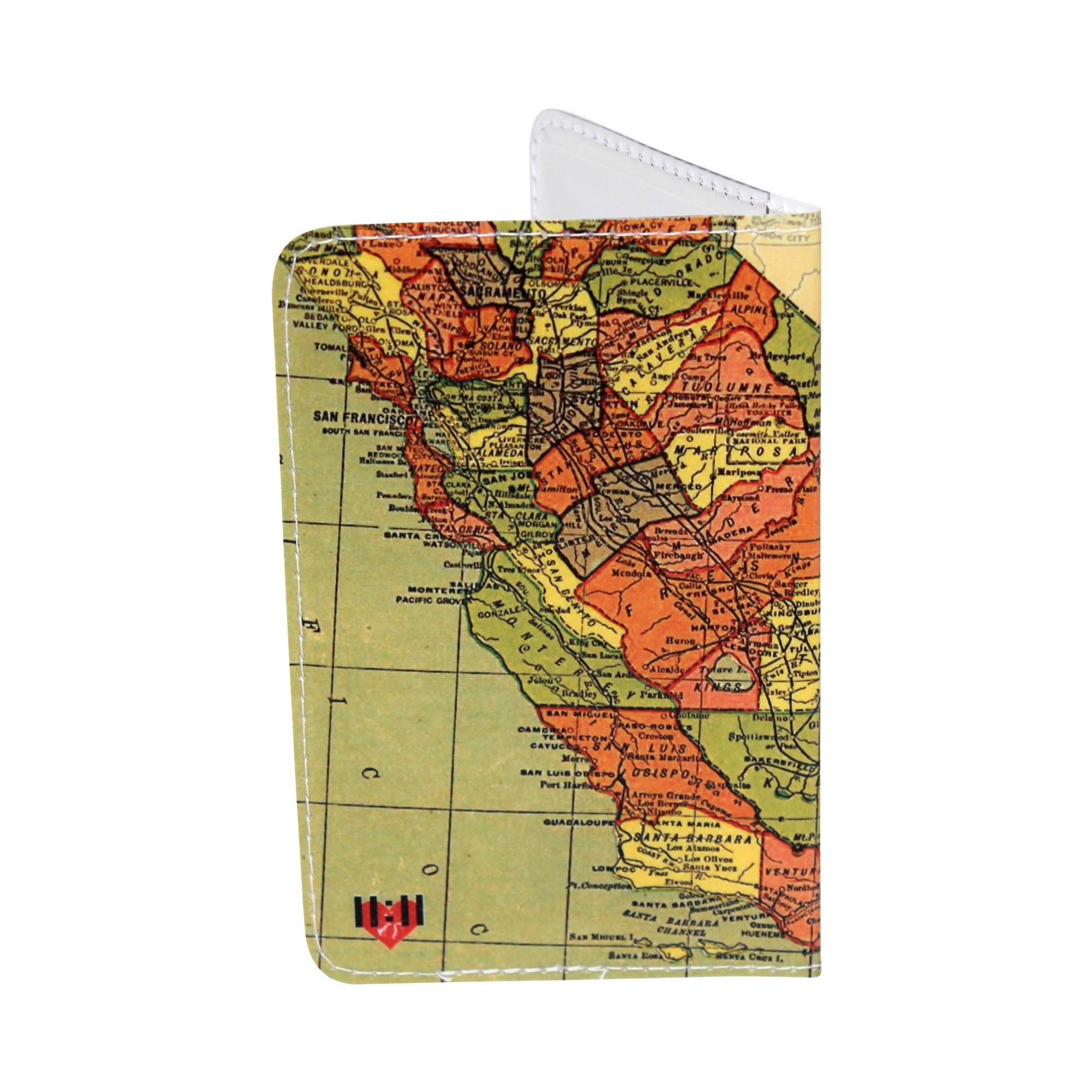 California State Flag Business, Credit & ID Card Holder