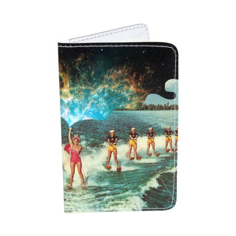 Cosmic Water Ski Business, Credit & ID Card Holder