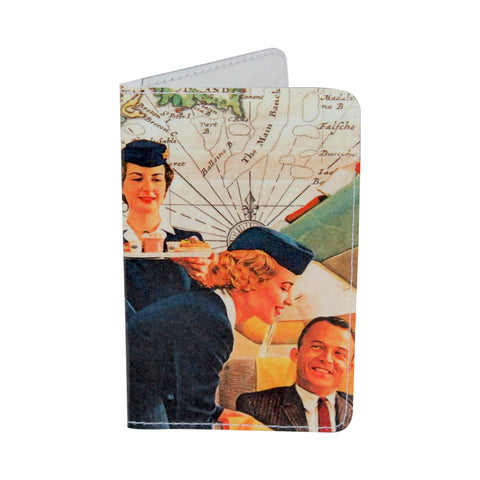Vintage Flight Attendant Business, Credit & ID Card Holder
