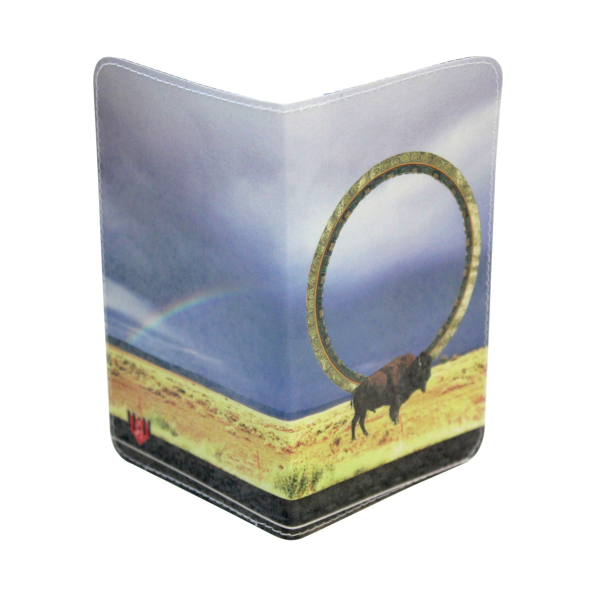 Native American Buffalo Magic Business, Credit & ID Card Holder