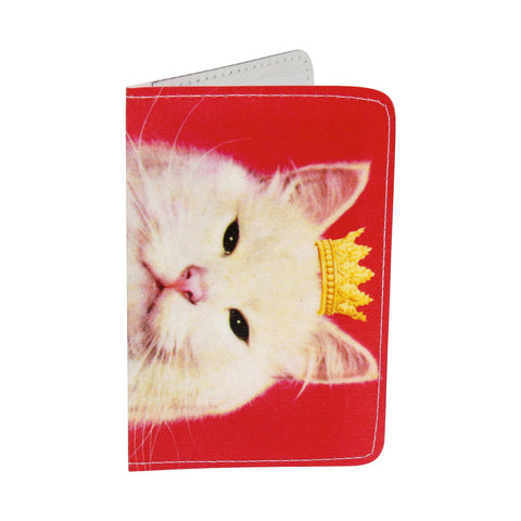 Royal Pink Kitty Business, Credit & ID Card Holder
