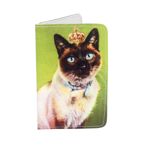 Royal Green Kitty Business, Credit & ID Card Holder