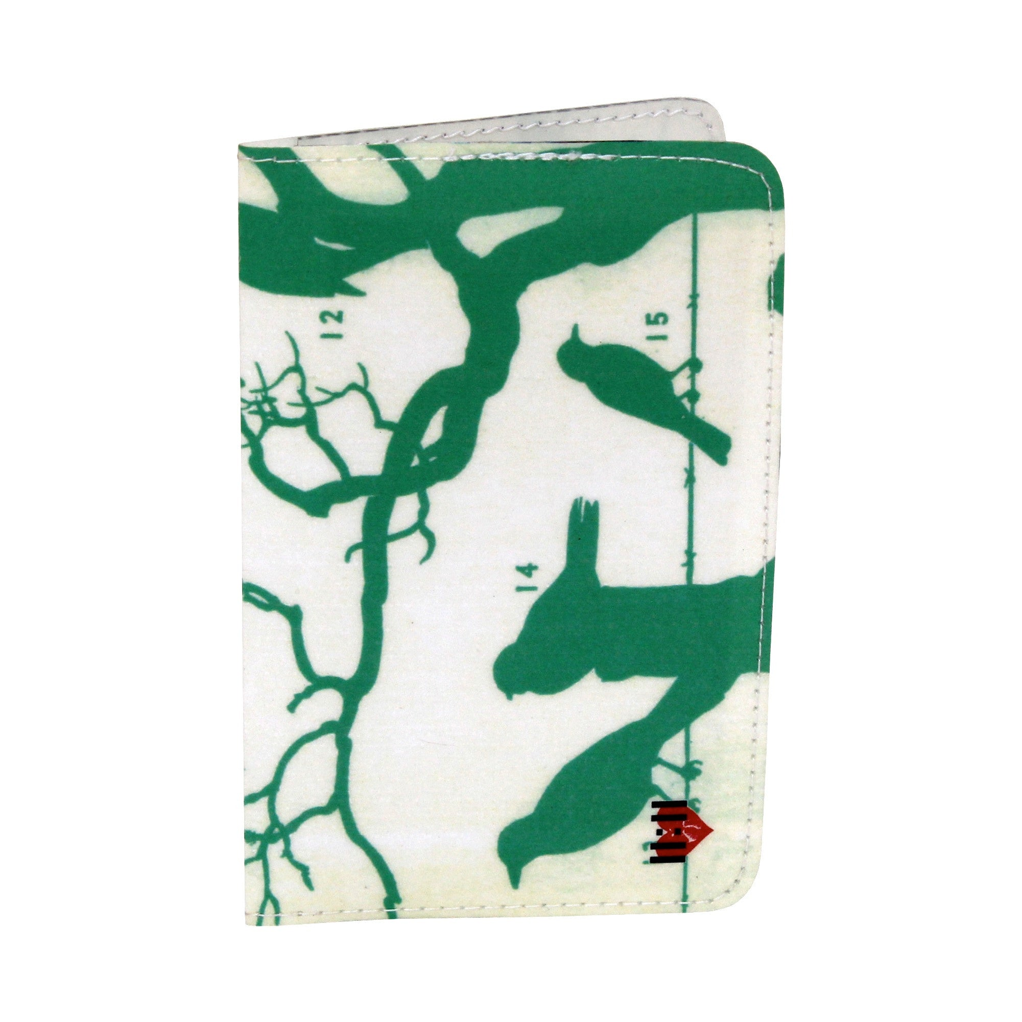 Green Birds Number Field Guide, Business, Credit & ID Card Holder