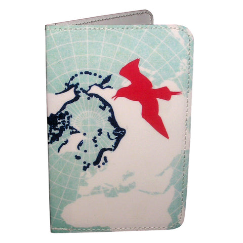 Blue Bird Map Business, Credit & ID Card Holder