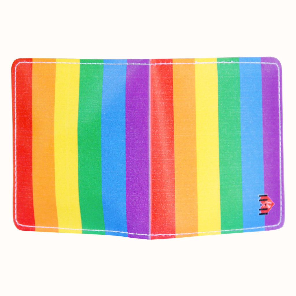 Gay Pride Rainbow Condom Case