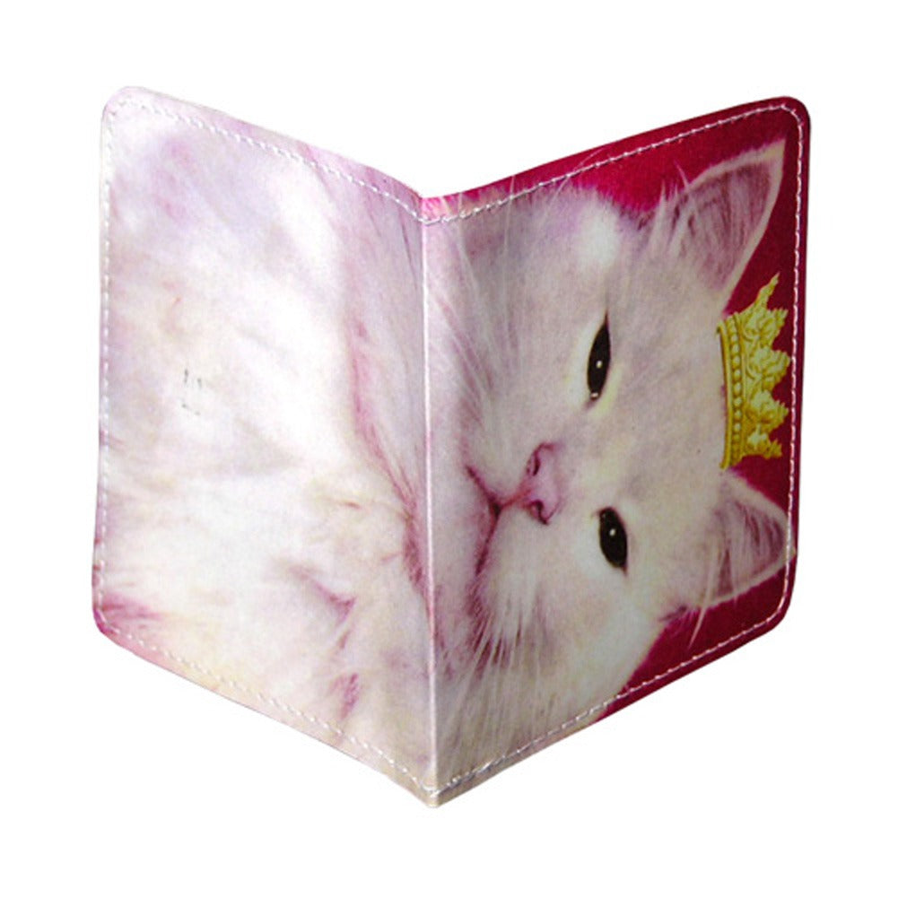 Royal Pink Kitty Condom Case