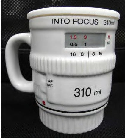 White Into Focus Mug