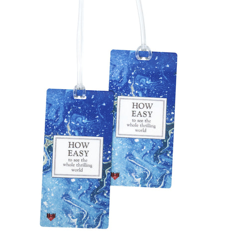 How Easy Luggage Bag Tag Set - 2 pc, Large by 11:11 Enterprises