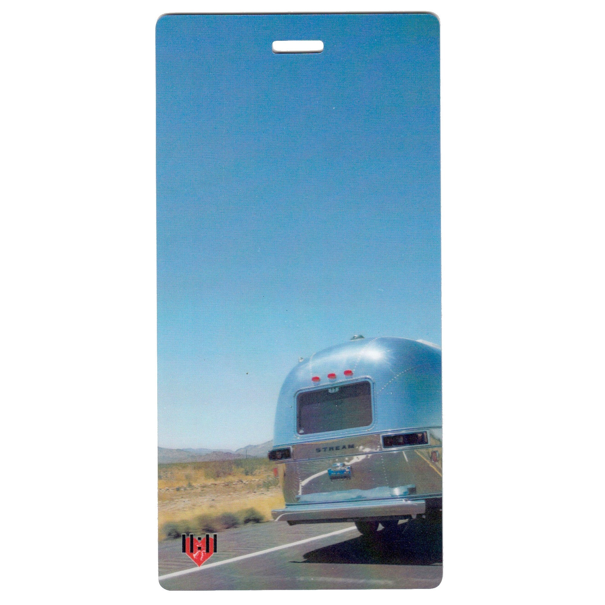 Airstream On the Road Luggage Bag Tag Set - 2 pc, Large by 11:11 Enterprises