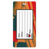 Bon Voyage Travel Set- Passport Holder + Matching Luggage Tags