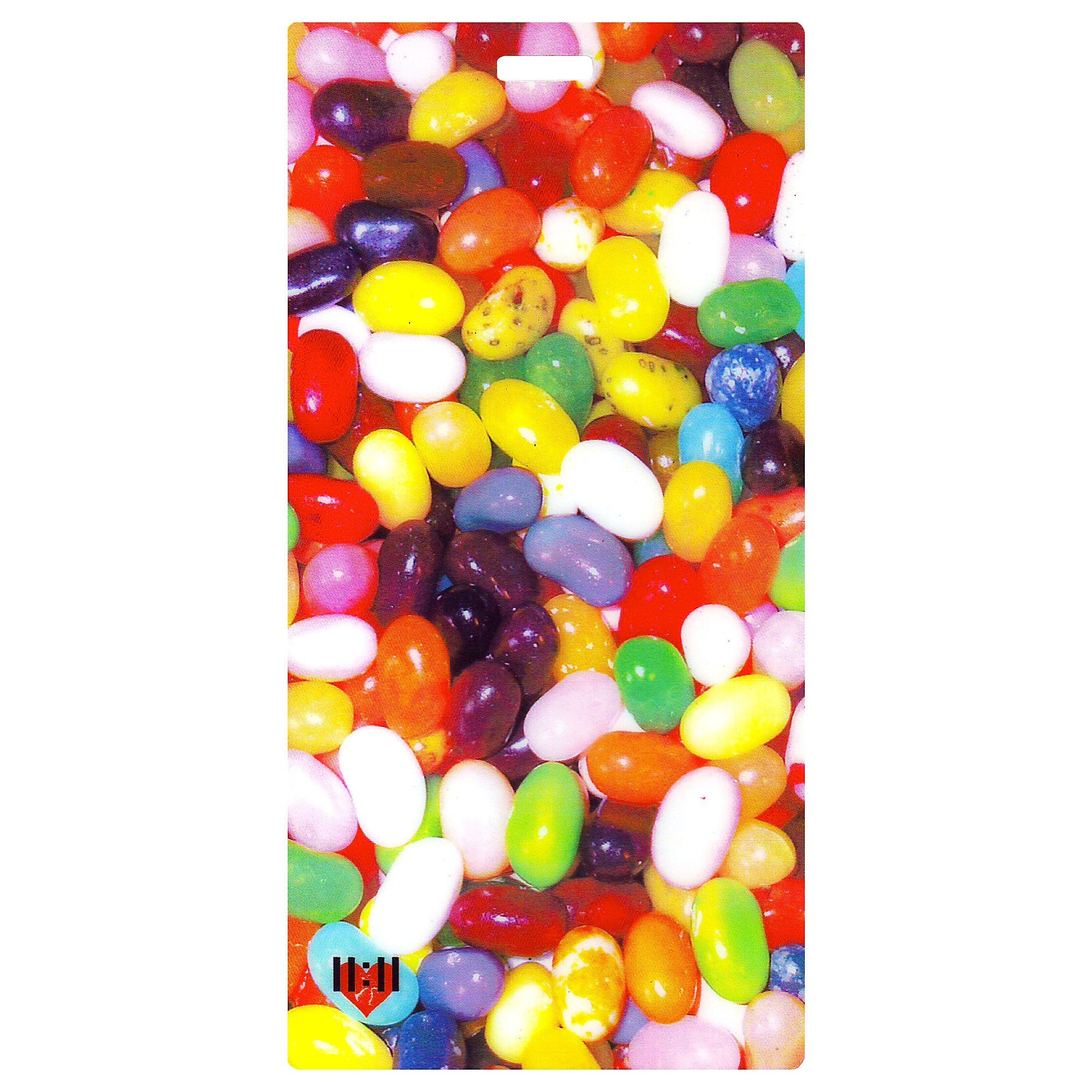 Jelly Beans Celebration Luggage Bag Tag Set - 2 pc, Large by 11:11 Enterprises