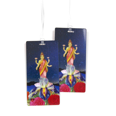 Goldfish Luggage Bag Tag Set - 2 pc, Large by 11:11 Enterprises