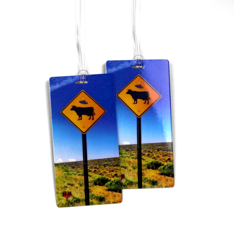 San Francisco Map Luggage Bag Tag Set - 2 pc, Large by 11:11 Enterprises