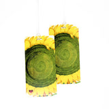 Sunflower Luggage Bag Tag Set - 2 pc, Large by 11:11 Enterprises