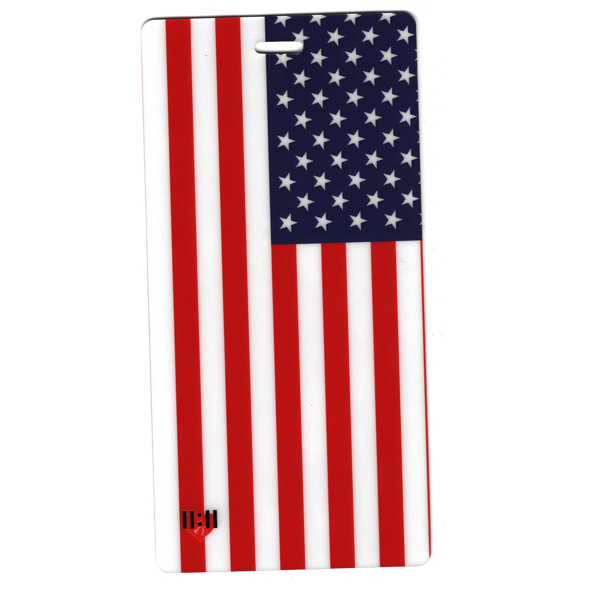 American Flag USA Travel Set- Passport Holder + Matching Luggage Tags