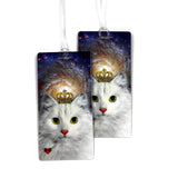 Space Kitty Luggage Bag Tag Set - 2 pc, Large by 11:11 Enterprises